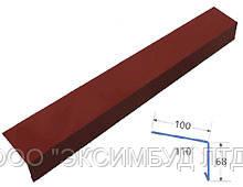 Спецпланка карнизная из оцинкованного окрашенного металла (RAL)