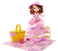 Набор говорящая кукла София прекрасная Чаепитие на пикнике, Disney Sofia the First Tea Party Picnic