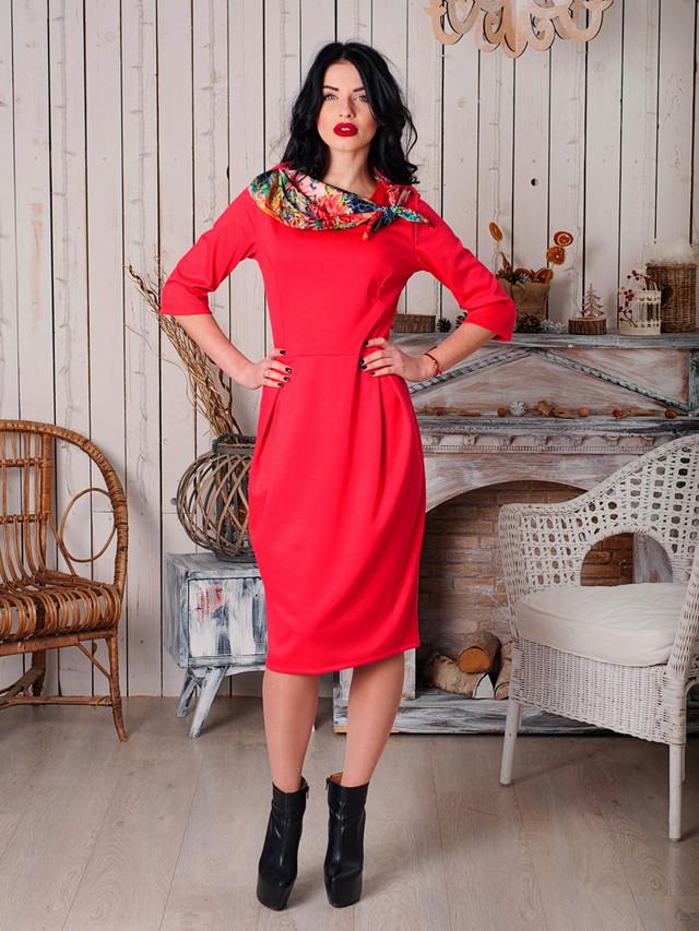 Нарядное женское офисное платье от производителя опт и розница