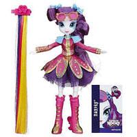Кукла май литтл пони шарнирная Рарити стильные прически My Little Ponу Equestria Girl Rarity