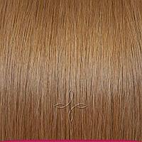 Натуральные славянские волосы на заколках 55-60 см 115 грамм, Русый №108