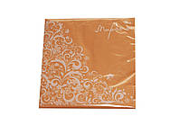 Салфетки бумажные Марго персек  (33х33 cм)