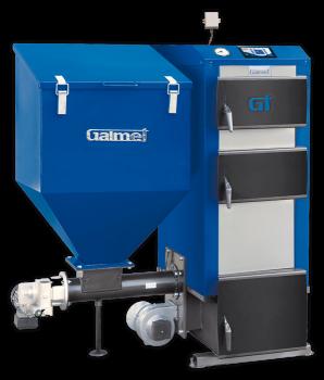 Универсальный пеллетный котел с автоматической подачей Galmet Expert GT-KWP М 30