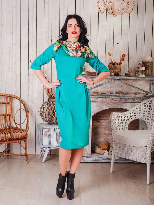 Нарядное женское платье в офисном стиле от производителя опт и розница