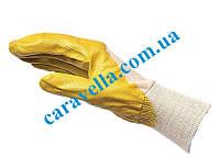Перчатки с нитриловым покрытием Economy L, код 0899410109