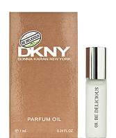 Масляный мини-парфюм DKNY Be Delicious  (Донна Каран Би Делишес), 7 мл