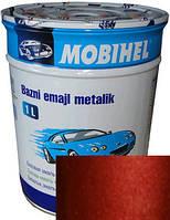 """813594 Автоэмаль базовая """"металлик"""" Helios Mobihel """"Красный рубин"""", 1л"""