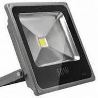 Светодиодный прожектор LEDEX 50Вт 4000лм 6500К холодный белый 120º IP65 (slim)