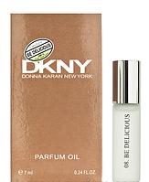 Масляный мини парфюм с феромонами Donna Karan DKNY Be Delicious (Донна Каран Би Делишес) 7 мл.