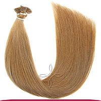 Натуральные славянские волосы на капсулах 55-60 см 100 грамм, Русый №108