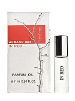 Масляный мини-парфюм Armand Basi In Red (Арманд Баси ин Ред), 7мл