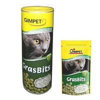 Витамины для кошек Грас Битс (GrasBits) с добавлением натуральной травы 710 шт.