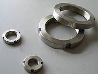 Гайка круглая шлицевая М155 DIN 981, ГОСТ 11871-88