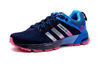 Кроссовки Adidas Flyknit2, женские/подросток, синие, р. 36 37 38 39 40 41