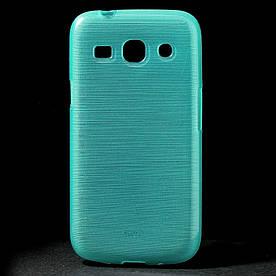 Чехол TPU на Samsung G350E Galaxy Star Advance, Pearl Style Голубой