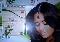Маска для лица Тулси, Tulsi Herbal Face Pack Khadi, 100г