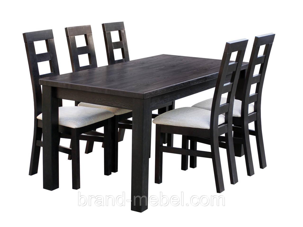 Стол раскладной Гранте дубовый 120(160)*80