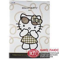 Гофрокартон  А4, 5 цв, металлиз HelloKitty Diva  HK13-258К