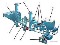 Комплекс оборудования по производству масла растительного ОВОР-450