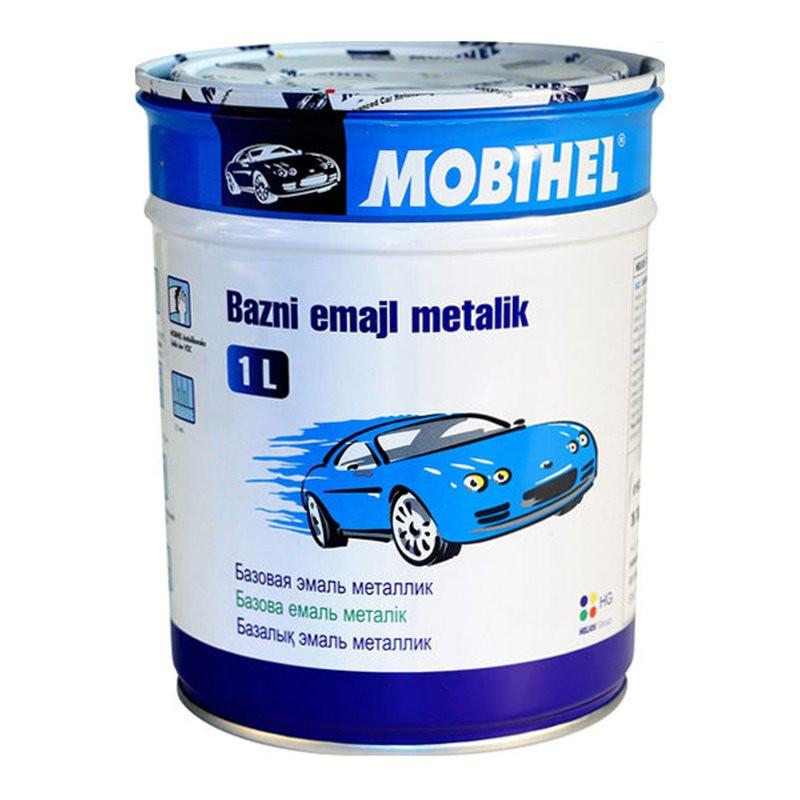 """478 Автоэмаль базовая """"металлик"""" Helios Mobihel """"Слива"""", 1л"""