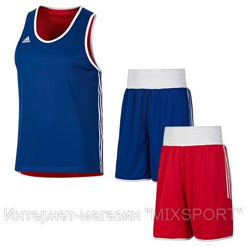 Двухсторонняя боксерская форма adidas