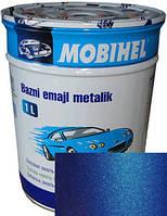 """Logan 61G Автоэмаль базовая """"металлик"""" Helios Mobihel """"Albastru Egee"""", 1л"""