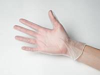 Перчатки виниловые с пудрой 100 шт размер М
