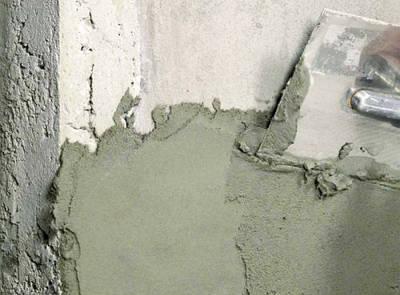 Цементные штукатурки/шпаклевки