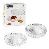 Султана набор тарелок 20см. 1/6шт. Pasabahce 10289