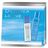 Женский подарочный набор  DONNA LA RIVE  (Туалетная вода/дезодорант) 6026