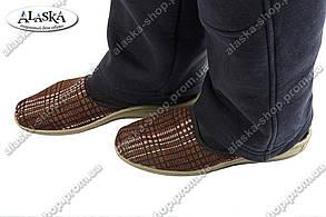 Мужские тапочки без задника ассорти (Код: Муж тап без задника)