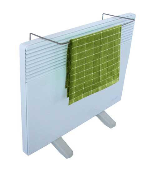 Электроконвектор Термия настенный 1,5 кВт ЭВНА 1,5/230 С2 мб ЭЛИТ с рамкой для сушки