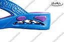 Женские сланцы фиолетово-бирюзовые (Код: ПЖ-26), фото 3