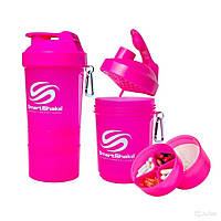 Шейкер SmartShake Original NEON Pink (600 мл)