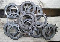 Гайка круглая шлицевая М200 DIN 981, ГОСТ 11871-88
