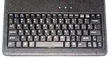 Чехол с клавиатурой 9.7 черный с русскими буквами, фото 3