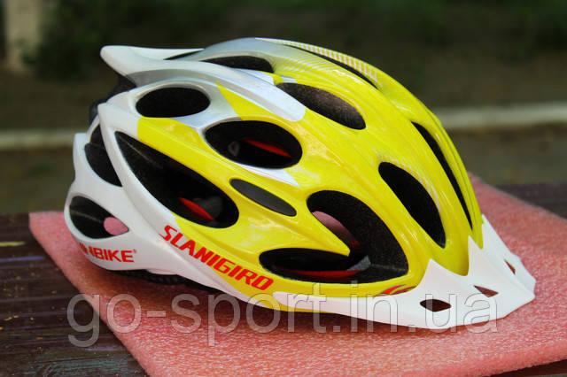 Велосипедный шлем Slanigiro yelow