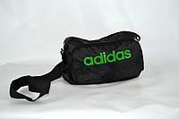 Спортивная сумка adidas (черно/зеленый) LS(B3)-1108, фото 1