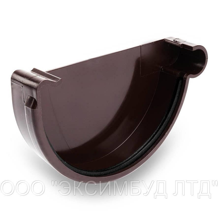Заглушка желоба  для наружного водосбора BRYZA 150