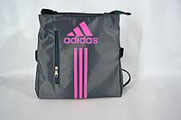Сумка планшет adidas (серо-роз) LS(P7)-1109, фото 1