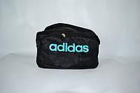 Спортивная сумка adidas LS(B3)-1108 (черно/голубой), фото 1