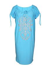 Прямое платье большого размера Анжелика