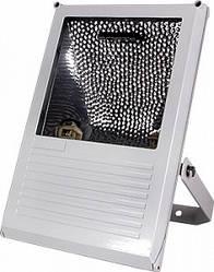 Прожектор под металогалогенную лампу e.mh.light.2002.150.white 150Вт белый асимметричный без лампы