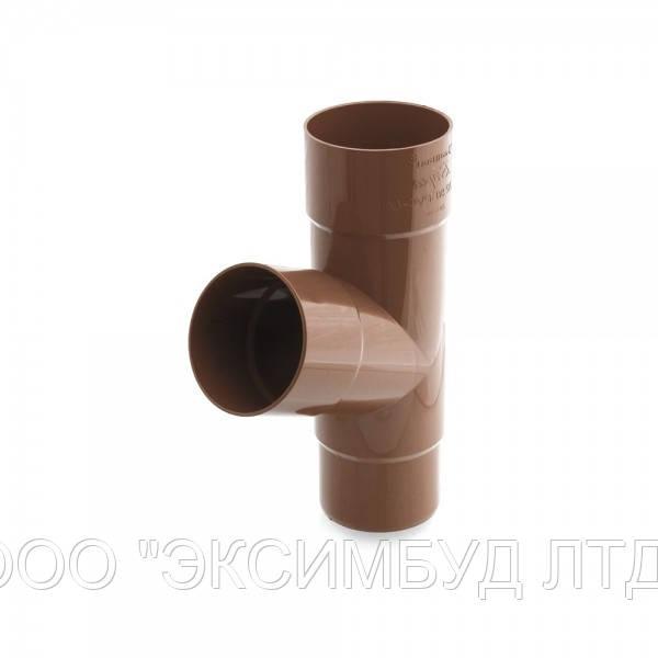 Тройник трубы для наружного водосбора BRYZA 100