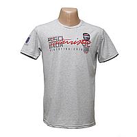 Мужская Турецкая стрейчевая футболка тм. BY Walker.  H2135