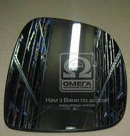 Вкладыш зеркала правого на Mercedes-Benz Vito 639 2003г.-2010г. с обогревом (пр-во TEMPEST)