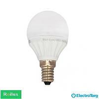 Светодиодная лампа ROI P45P-220-240V, 4W, 400lm, 4100k, E14 Roilux