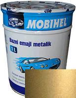 """Hyundai H01 Автоэмаль базовая """"металлик"""" Helios Mobihel """"Летний песок"""", 1л"""