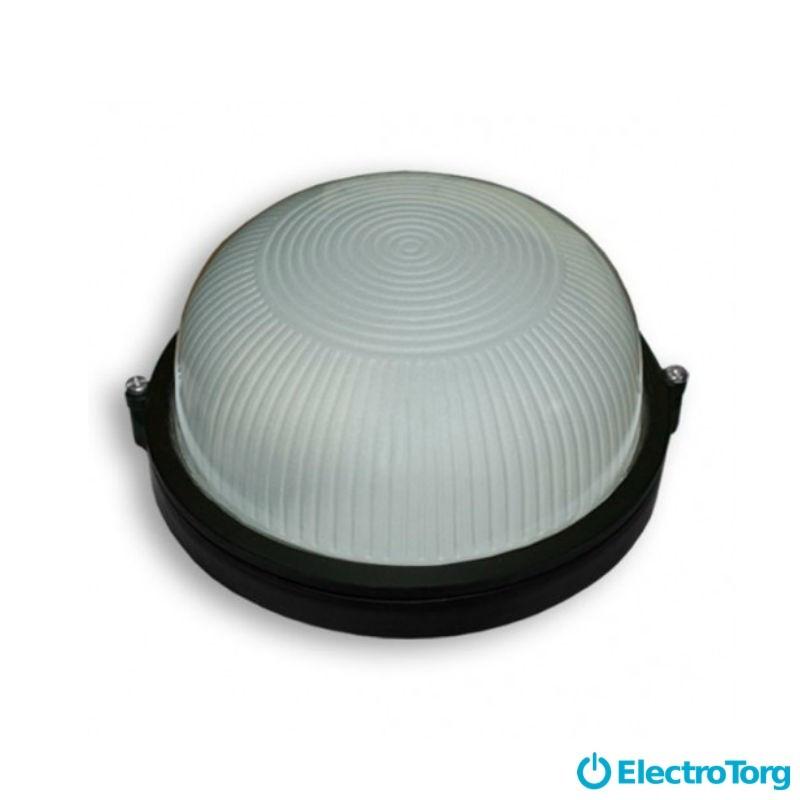 Світильник SL-1202, (чорний коло 100 Вт) Lifeco