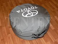 Чехол-сумка для запасного колеса TOYOTA. Цвет серый 75х25, фото 1